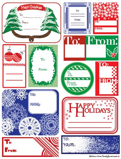 Gift Tags 2009