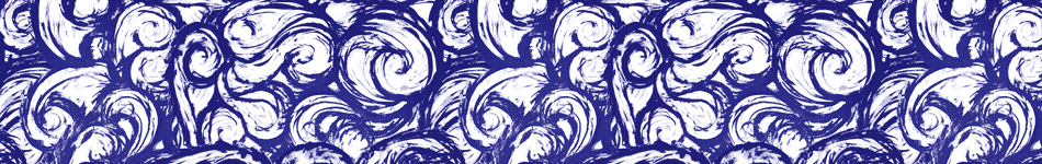 Blue Ink Swirl background