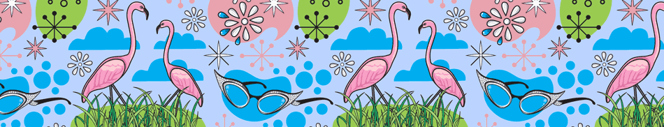 Pink Flamingos Background
