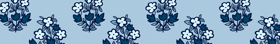 Indigo Block Print Background