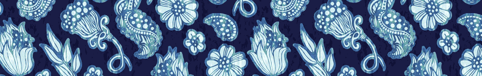 Paisley Denim Background