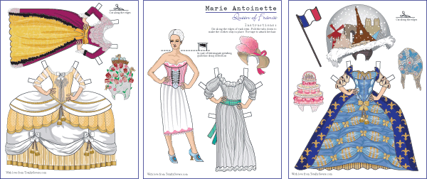 Paper Doll Preview
